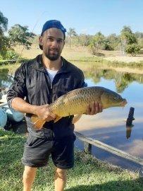 Pesca esportiva em nossos lagos
